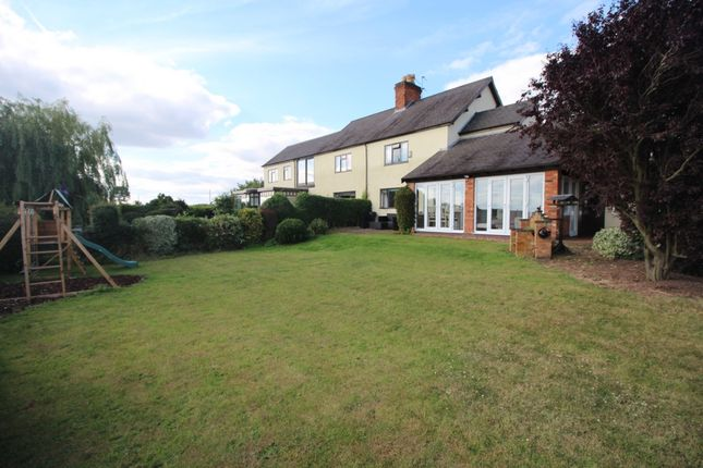 Thumbnail Semi-detached house for sale in Barkby Thorpe Lane, Syston