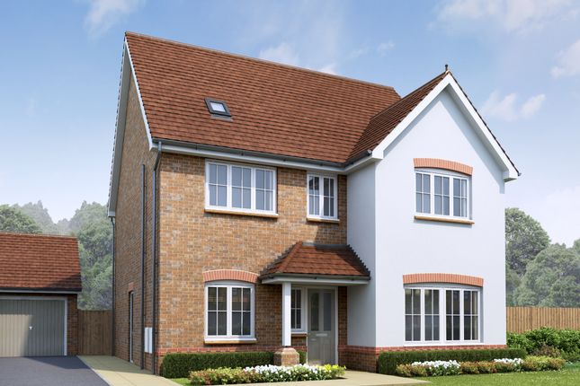 Thumbnail Detached house for sale in The Penarth, Holmes Chapel Road, Congleton, Cheshire