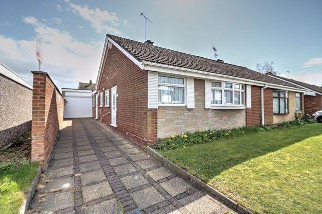 2 bed semi-detached bungalow for sale in Shrewsbury Road, Stretton, Burton-On-Trent DE13