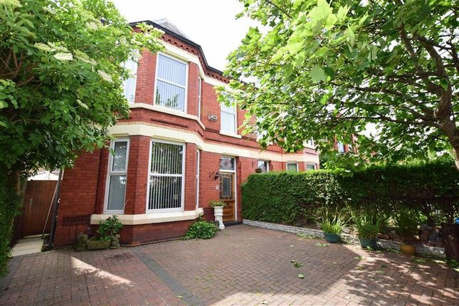Thumbnail Semi-detached house for sale in Serpentine Road, Wallasey, Merseyside