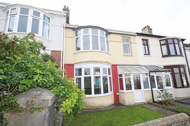 Thumbnail Terraced house for sale in Glenwood Road, Mannamead, Plymouth