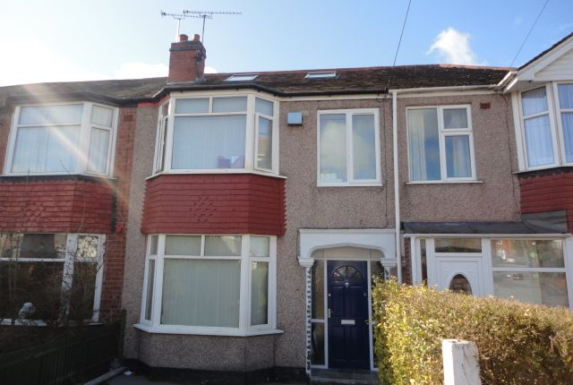 Thumbnail Terraced house to rent in Courtleet Road, Coventry