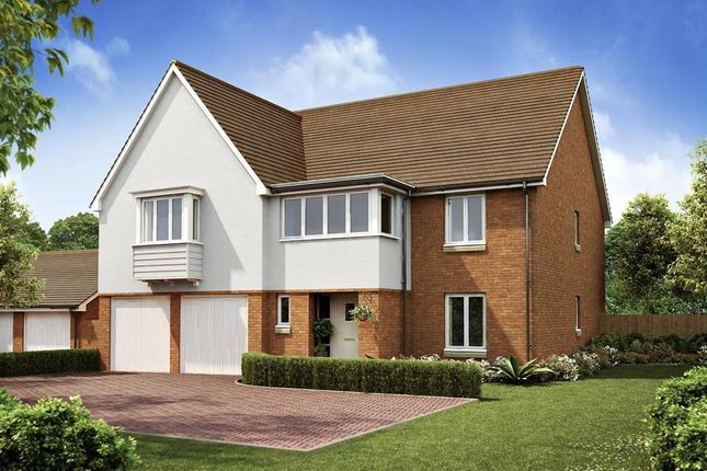 "Thumbnail Detached house for sale in ""Hatherley"" at Langmore Lane, Lindfield, Haywards Heath"