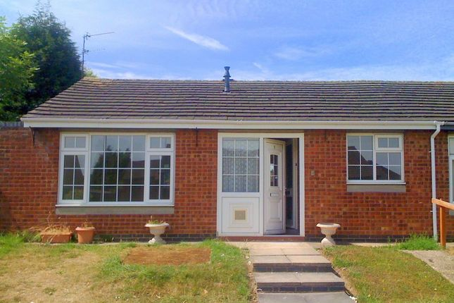 Thumbnail Semi-detached bungalow to rent in Wolsey Drive, Ratby, Leicestershire