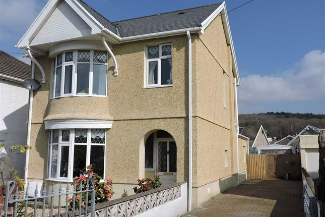 Thumbnail Detached house for sale in Capel Road, Clydach, Swansea
