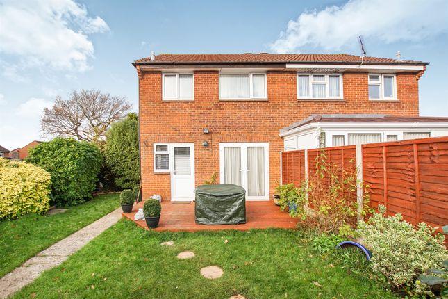 Thumbnail Semi-detached house for sale in Mountbatten Close, Yate, Bristol
