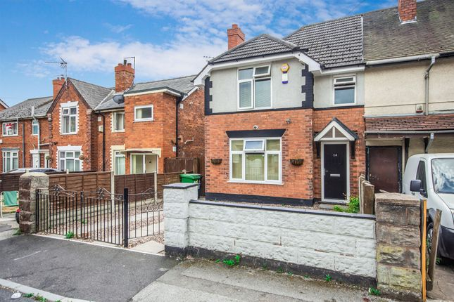 Thumbnail End terrace house for sale in Oakland Road, Walsall