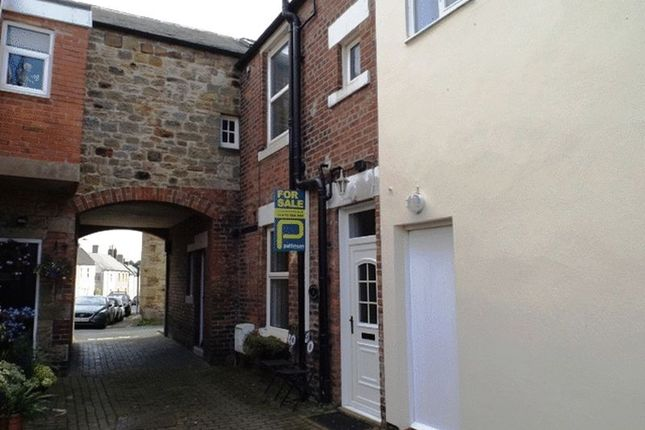Thumbnail Terraced house to rent in The Nook, Currys Buildings, Morpeth - One Bedroom House