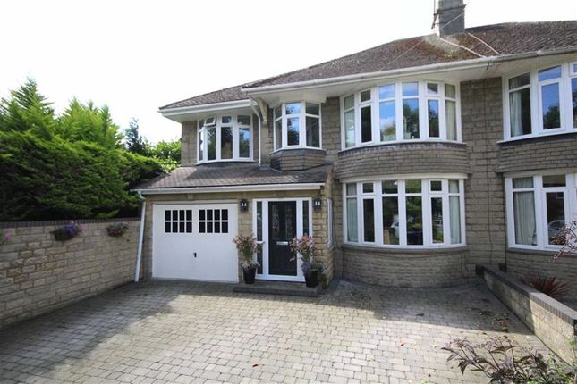 Thumbnail Semi-detached house for sale in Corby Avenue, Lakeside, Swindon