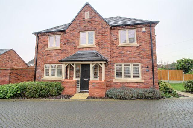Thumbnail Detached house for sale in Ryton Gardens, Bulkington, Bedworth