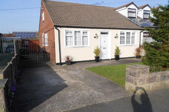 Thumbnail Semi-detached bungalow for sale in Sandown Road, Crewe, Cheshire