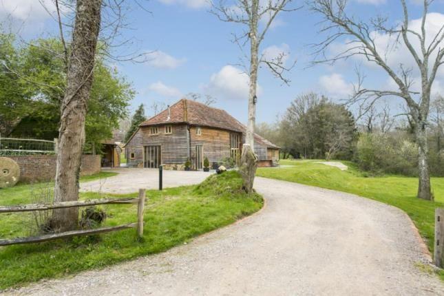Thumbnail Barn conversion for sale in Pottens Mill Lane, Broad Oak, Heathfield, East Sussex