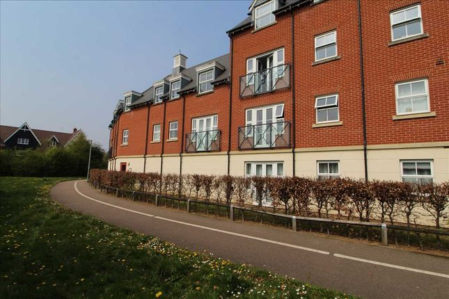 Thumbnail Flat for sale in Thomas Benold Walk, Colchester