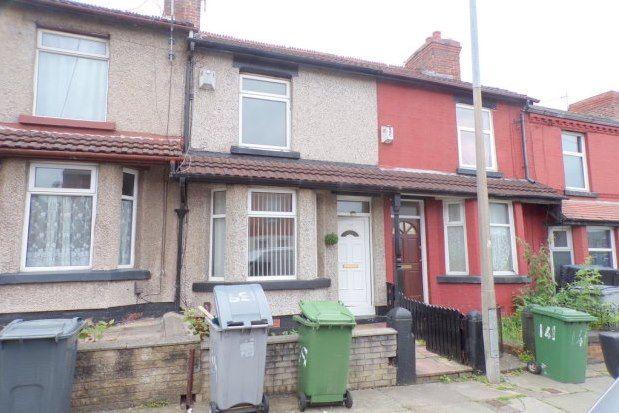 Thumbnail Terraced house to rent in Elmswood Road, Birkenhead