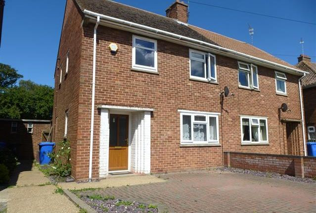 Thumbnail Semi-detached house to rent in Europa Road, Lowestoft