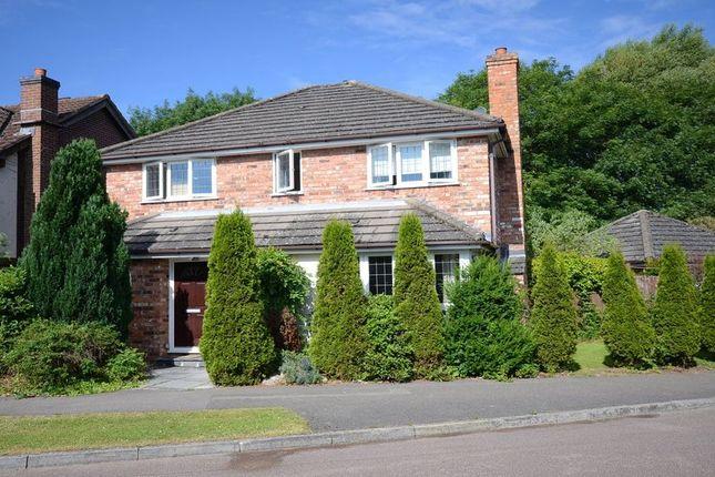 Thumbnail Detached house to rent in Stevenson Drive, Binfield, Bracknell