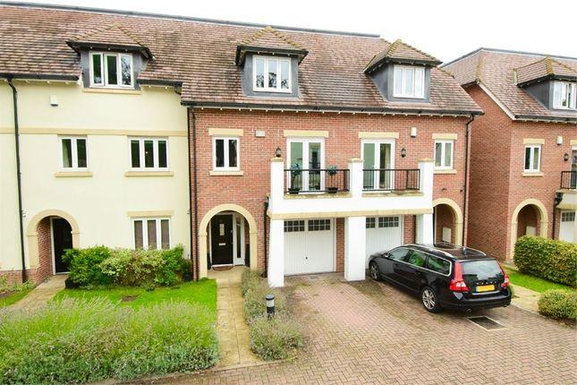 Thumbnail Town house for sale in Goodacre Close, Weybridge, Surrey