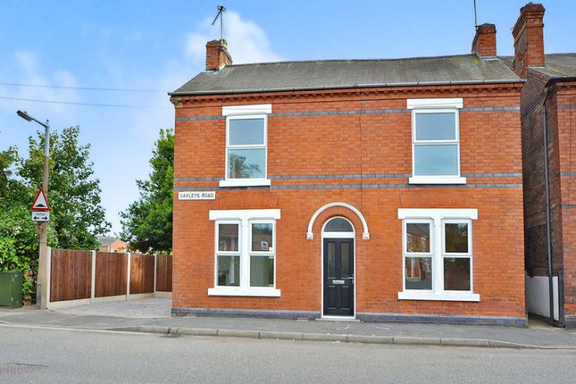 3 bed detached house for sale in Oakleys Road, Long Eaton, Nottingham