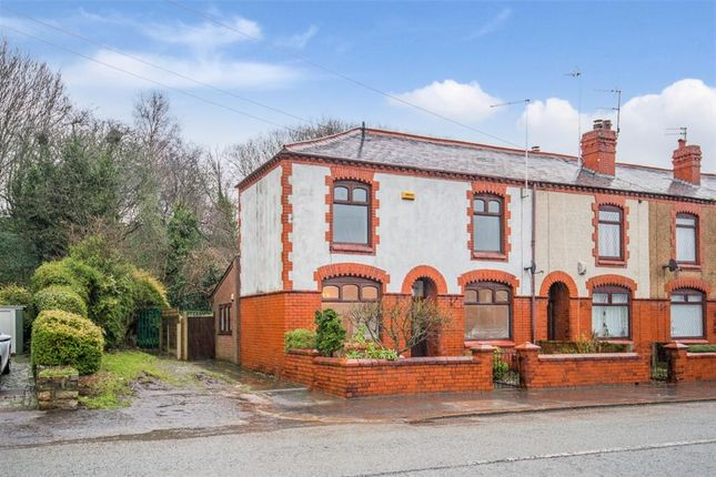 Thumbnail End terrace house to rent in Hilton Lane, Worsley, Manchester