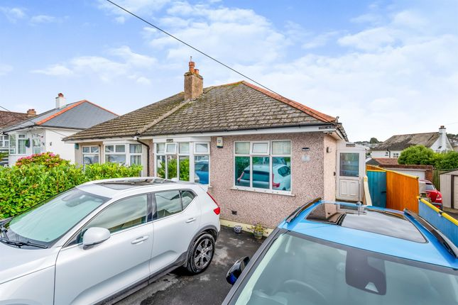 Thumbnail Semi-detached bungalow for sale in Quarry Park Avenue, Plymstock, Plymouth