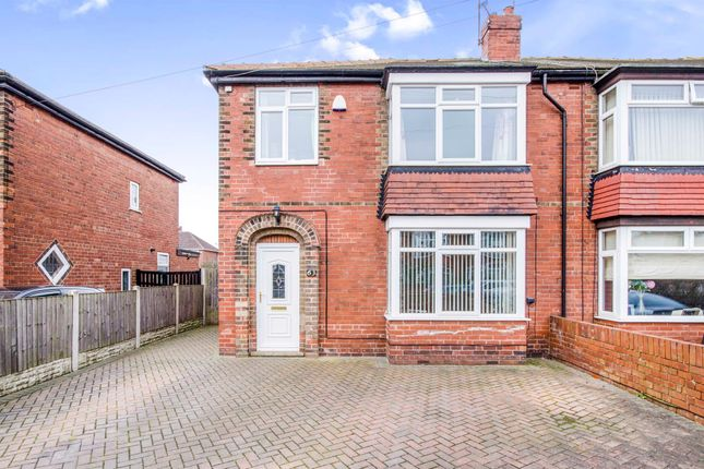 3 bed semi-detached house for sale in Zetland Road, Town Moor, Doncaster