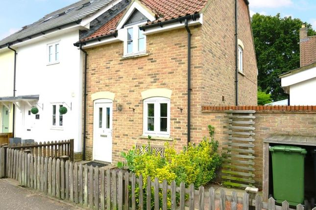 Thumbnail Semi-detached house to rent in Cromwell Road, Weeting, Brandon