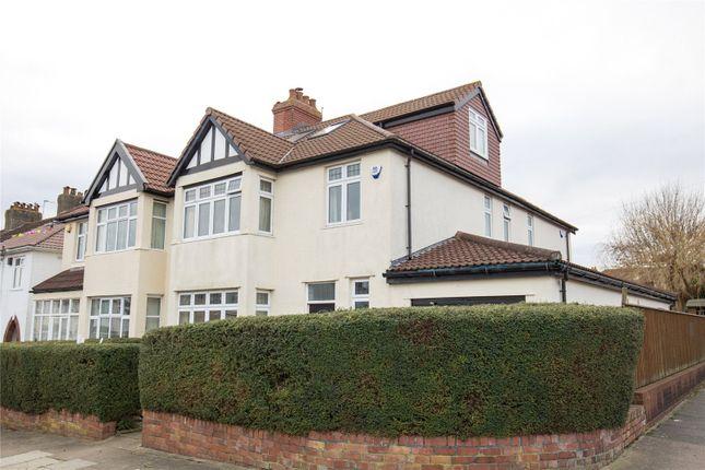 Semi-detached house for sale in Walliscote Avenue, Henleaze, Bristol
