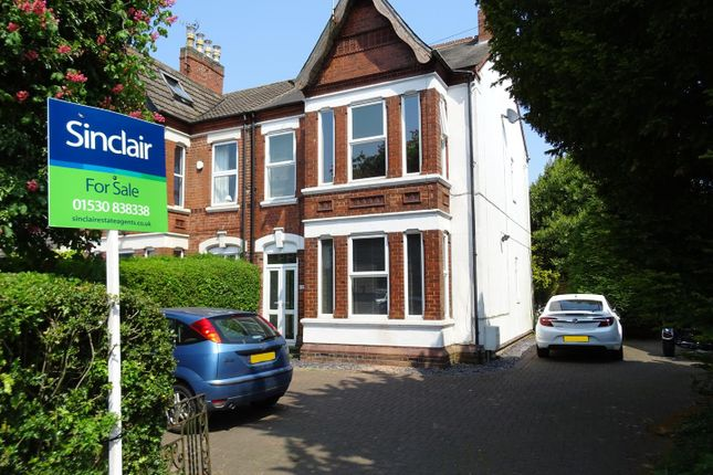 Thumbnail Semi-detached house for sale in London Road, Coalville, Leicestershire