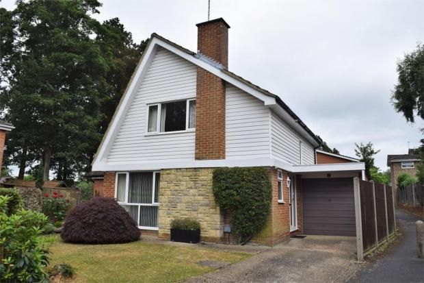 Thumbnail Detached house for sale in Buttermere Drive, Camberley