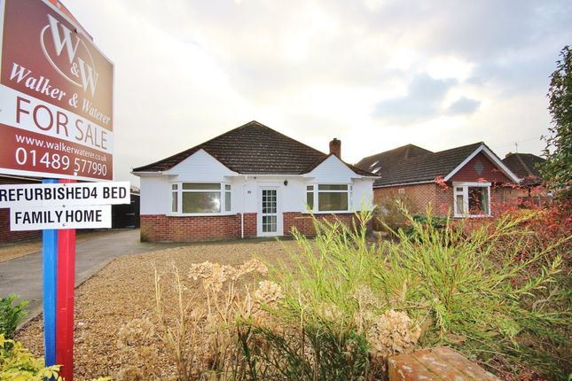 Thumbnail Detached bungalow for sale in Barnes Lane, Sarisbury Green, Southampton