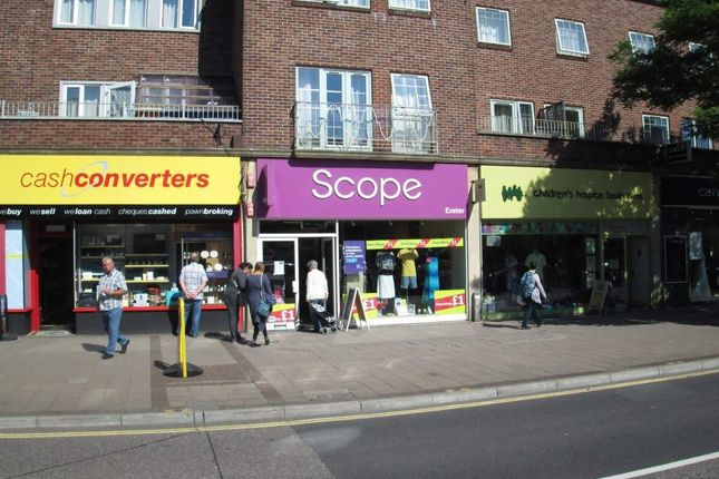 Thumbnail Retail premises to let in 41, Sidwell Street, Exeter