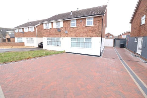 Thumbnail Semi-detached house to rent in Dingle Road, Rushden