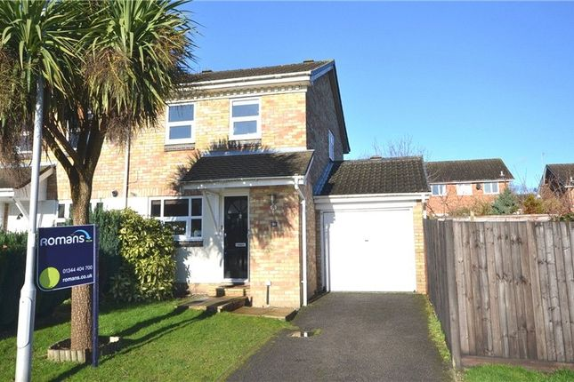 Thumbnail Semi-detached house to rent in Hombrook Drive, Amen Corner, Bracknell