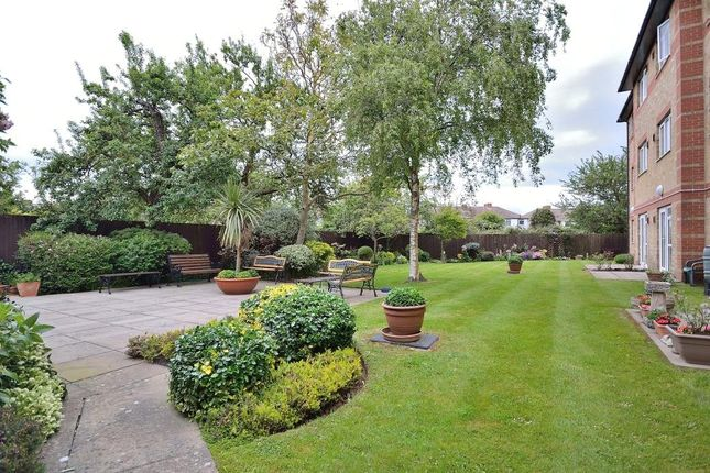 Communal Gardens of Amberley Court, Freshbrook Road, Lancing, West Sussex BN15