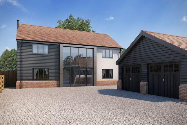 4 bed detached house for sale in Hazel Shrub, Bentley, Ipswich IP9