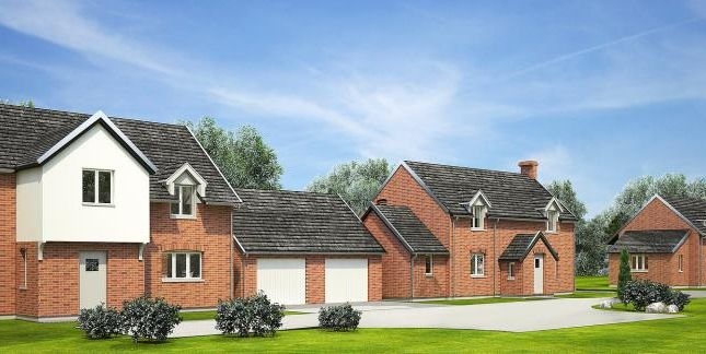 Thumbnail Detached house for sale in Wharton, Leominster