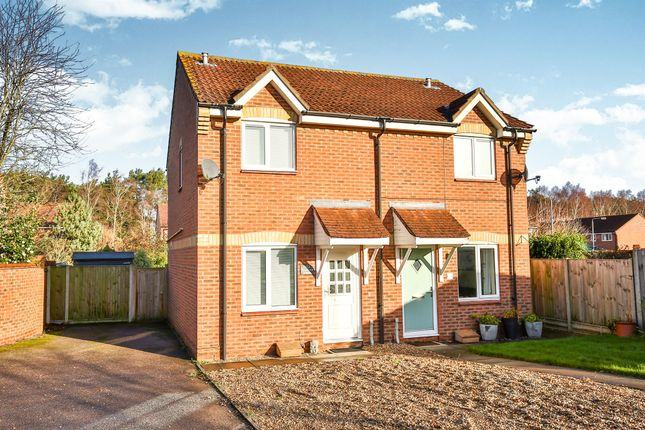 Thumbnail Semi-detached house for sale in Kingswood Avenue, Taverham, Norwich