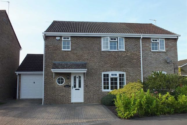 Thumbnail Detached house for sale in Lydiard Way, Trowbridge, Wiltshire