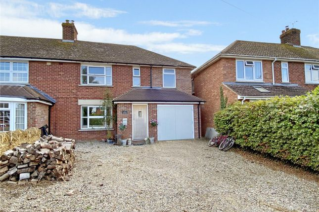 Thumbnail Semi-detached house for sale in Johnstones, Goosey, Faringdon
