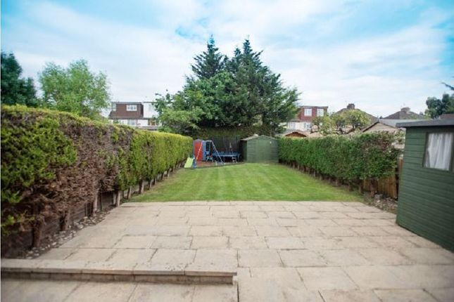 Garden of Windsor Avenue, Edgware, Greater London. HA8