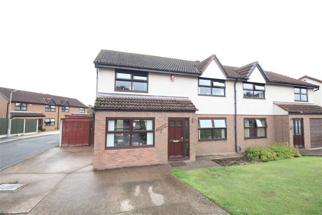 Thumbnail Semi-detached house for sale in Abbotsford Drive, Carlisle, Cumbria
