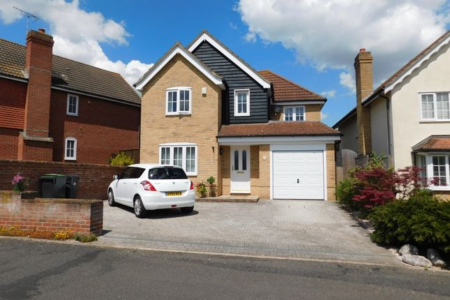 Detached house for sale in Swallow Drive, Stowmarket, Suffolk