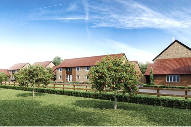 Thumbnail Detached house for sale in Orchard View, Stembridge, Martock