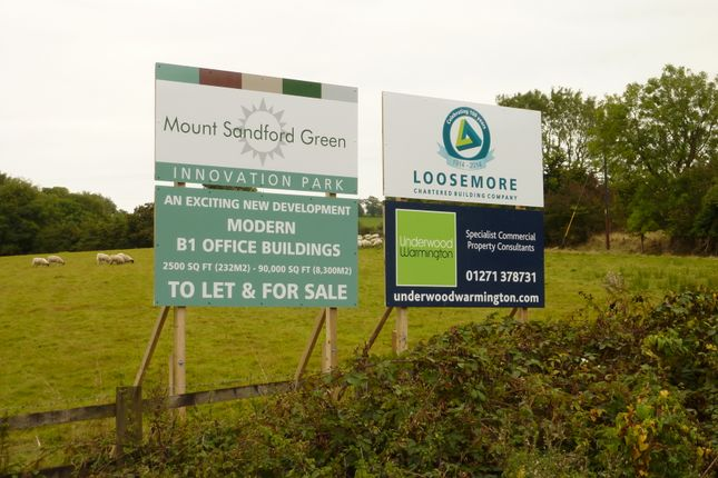 Thumbnail Office to let in Link Road, Barnstaple