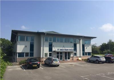 Thumbnail Office to let in Ty Matthew House Unit 35, St. Asaph Business Park, St. Asaph, Denbighshire