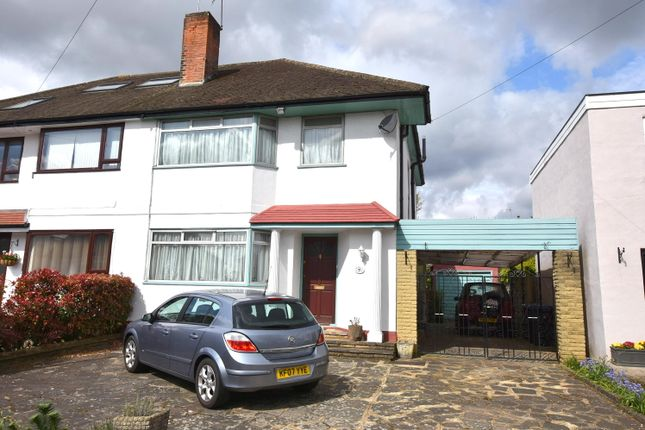3 bed semi-detached house for sale in Langham Gardens, Grange Park N21