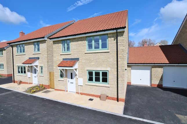 Thumbnail Link-detached house for sale in Herbert Gardens, Farmborough, Bath