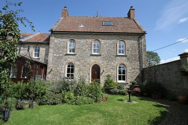 Thumbnail 5 bed semi-detached house for sale in East Compton, Shepton Mallet