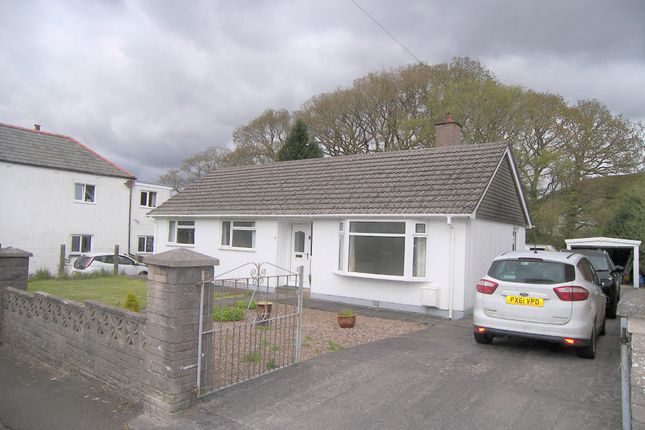 Thumbnail Detached bungalow to rent in School Road, Crynant, Neath