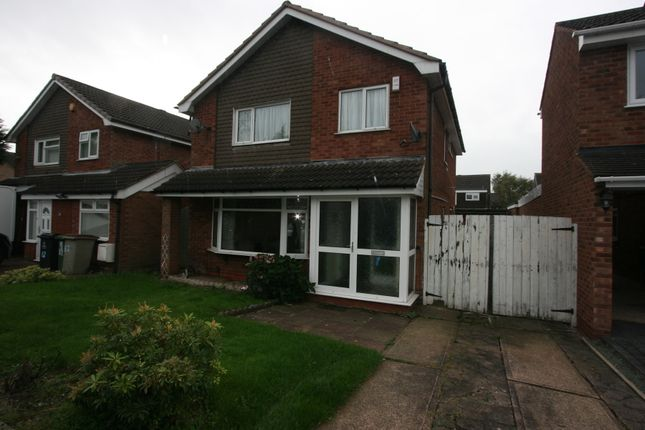 Thumbnail Detached house to rent in Kewstoke Road, Willenhall